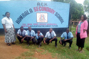 The Water Project: Hombala Secondary School -  School Gate