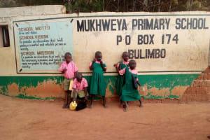 The Water Project: Mukhweya Primary School -  School Gate