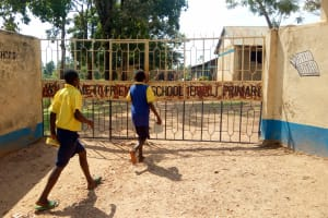 The Water Project: Ibwali Primary School -  School Gate