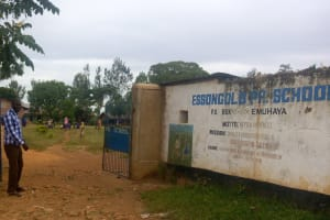 The Water Project: Essongolo Primary School -  School Gate