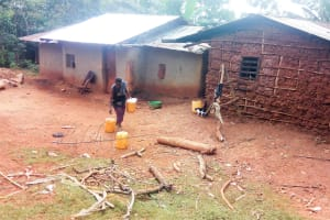 The Water Project: Mutao Community, Shimenga Spring -  Household