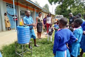 The Water Project: Naliava Primary School -  Handwashing Training