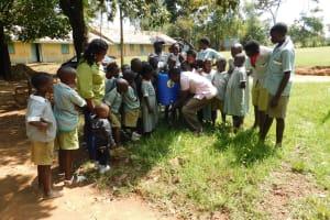 The Water Project: Eshisenye Primary School -  Handwashing Training