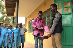 The Water Project: Shivanga Primary School -  Handwashing Training