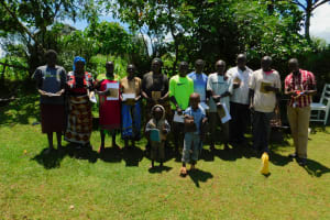 The Water Project: Koloch Community, Solomon Pendi Spring -  Training Group Picture