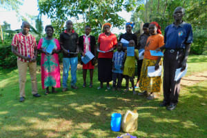 The Water Project: Koitabut Community, Henry Kichwen Spring -  Group Picture