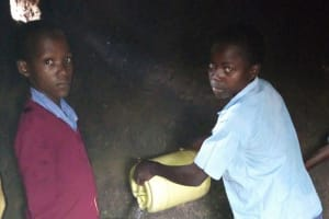 The Water Project:  Delivering Some Water To Kitchen