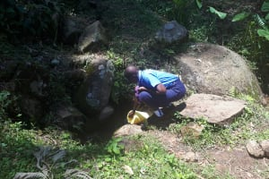 The Water Project: Musasa Secondary School -  Fetching Water