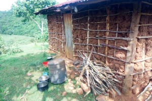 The Water Project: Mutao Community, Shimenga Spring -  Water Storage