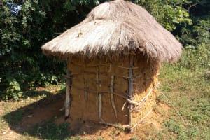 The Water Project: Sichinji Community, Kubai Spring -  Mud Latrine