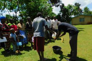 The Water Project: Koloch Community, Solomon Pendi Spring -  Handwashing Training