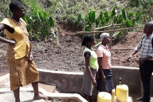 The Water Project: Shitoto Community, Mashirobe Spring -  Spring Care Training