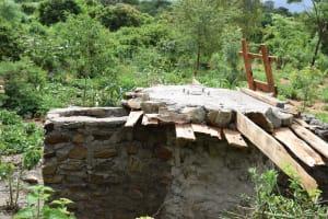 The Water Project: Ngitini Community C -  Well Progress