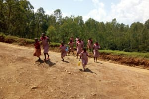 The Water Project: Ivumbu Primary School -  The Busy Road