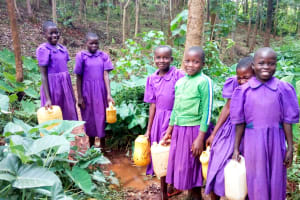 The Water Project: Munyanza Primary School -  At A Water Source