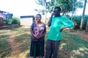 The Water Project: Mutao Community, Shimenga Spring -  Seth Shivitsi
