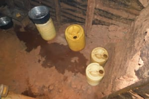 The Water Project: Friends School Mutaho Primary -  Water Storage In Kitchen