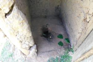 The Water Project: Ataku Community, Ngache Spring -  Dangerous Latrine Floor