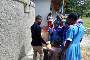 The Water Project: Naliava Primary School -  Training On Tank Care
