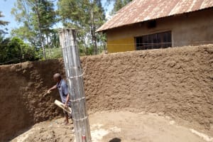 The Water Project: Matsigulu Primary School -  Tank Construction