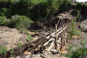 The Water Project: Ilinge Community D -  Sand Dam Construction