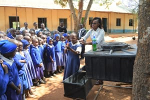 The Water Project: Kyaani Primary School -  Handwashing Training