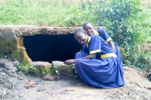 The Water Project: Ibwali Primary School -  Fetching Water