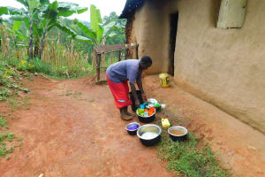 The Water Project: Mukhunya Community, Mwore Spring -  Utensils