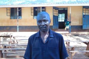 The Water Project: Friends School Mutaho Primary -  Headteacher Matete