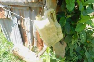 The Water Project: Sichinji Community, Kubai Spring -  One Of Two Handwashing Stations In Community