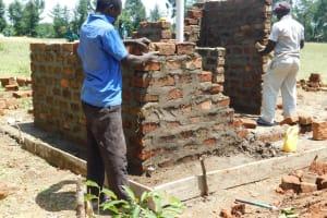 The Water Project: Mavusi Primary School -  Latrine Construction