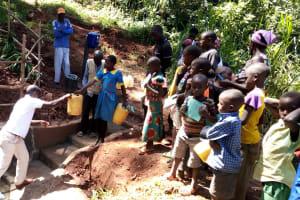 The Water Project: Chepnonochi Community, Chepnonochi Spring -  Spring Care Training