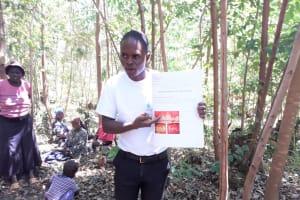 The Water Project: Upper Visiru Community, Wambosani Spring -  Dental Hygiene Training