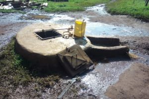 The Water Project: Immaculate Heart Secondary School -  Well With Hatch