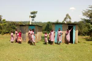 The Water Project: Ivumbu Primary School -  Latrines