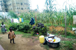 The Water Project: Mutao Community, Shimenga Spring -  Community