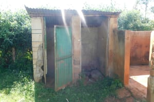 The Water Project: Friends School Mutaho Primary -  Latrines