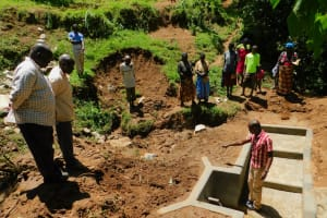 The Water Project: Koloch Community, Solomon Pendi Spring -  Spring Care Training