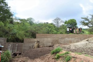 The Water Project: Masaani Community -  Finished Sand Dam