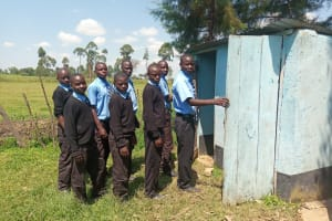 The Water Project: Nambilima Secondary School -  Latrines