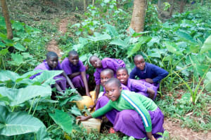 The Water Project: Munyanza Primary School -  Fetching Water
