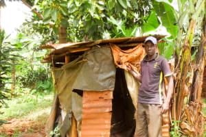 The Water Project: Mutao Community, Kenya Spring -  Okanga Family Latrine
