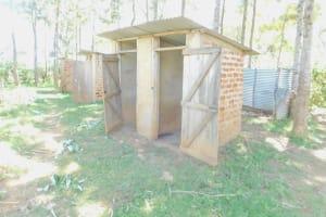 The Water Project: Shinyikha Primary School -  Latrines