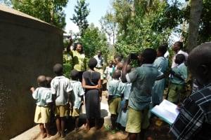 The Water Project: Eshisenye Primary School -  Tank Care Training