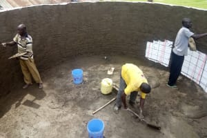 The Water Project: Shitaho Community School -  Tank Construction