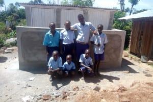 The Water Project: Matsigulu Primary School -  New Latrines