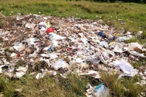 The Water Project:  Trash Disposal