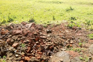 The Water Project: Ivumbu Primary School -  Torn Down Latrines
