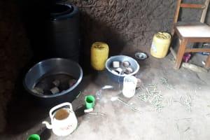 The Water Project: Ebutenje Primary School -  Water In School Kitchen