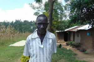The Water Project: Emukangu Community, Okhaso Spring -  Christopher Taifa
